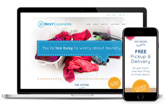 Best Cleaners - brand update